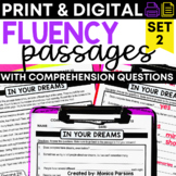 Reading Fluency Passages and Comprehension Questions - Set 2