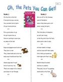Fluency Passages on Pets