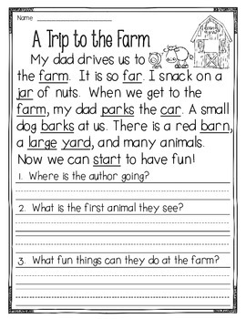 Fluency Passages to supplement Treasures - 1st Grade (Part 3)