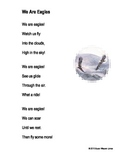 """Fluency, Phonics, and Fun through Poetry # 1 (""""We Are Eagles"""")"""
