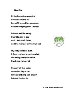 "Fluency, Phonics, and Fun through Poetry # 5 (""The Flu"")"