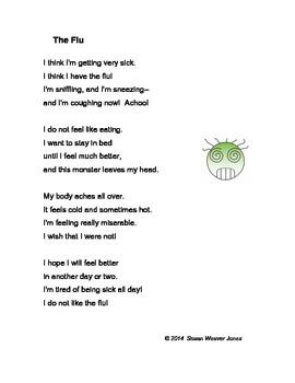 "Fluency, Phonics, and Fun through Poetry # 5 (""The Flu"")"