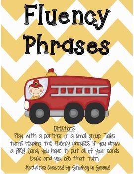 Fluency Phrase FREEBIE