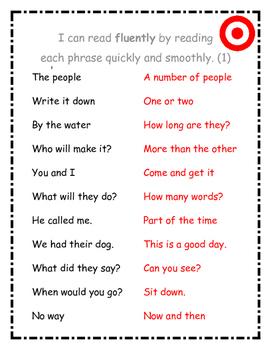 Fluency Phrases (1 of 3)