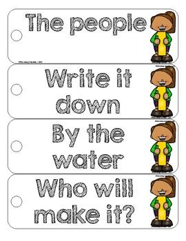 Fluency Phrases Cards: Fry's Set 1