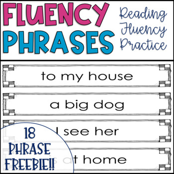 Fluency Phrases FREEBIE