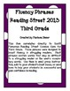 Fluency Phrases for Main Story - Reading Street 2013 - 3rd Grade - Unit 3