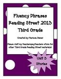 Fluency Phrases for Main Story - Reading Street 2013 - 3rd