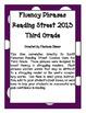 Fluency Phrases for Main Story - Reading Street 2013 - 3rd Grade - Unit 5