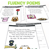 Fluency Poems