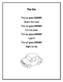 Fluency Poems  ...Common Core Aligned. Set 2