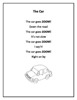 Fluency Poems  ...Common Core Aligned. Set 2