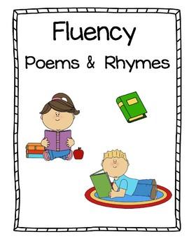 Fluency:  Poems & Rhymes Notebook