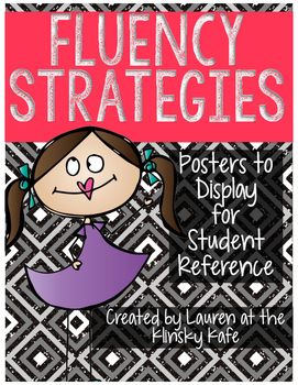 Fluency Posters