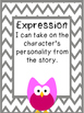 Fluency Posters-Owl Themed