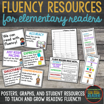 Fluency Posters, Checklists, and Graphs