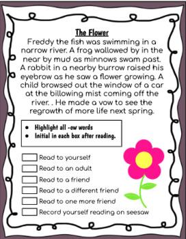 Fluency Practice