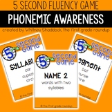 Fluency Practice Games: Phonemic Awareness