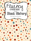 Fluency for February:  MLK and Black History Month