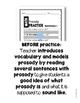 Fluency Practice (Math Vocabulary)