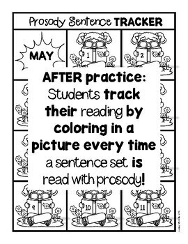 Fluency Practice (May)