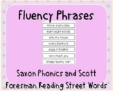 Fluency Practice - Phrases to Read - MyView & Saxon Phonics First Grade Reading