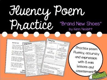 Fluency Practice Poem: Brand New Shoes by Kenn Nesbitt