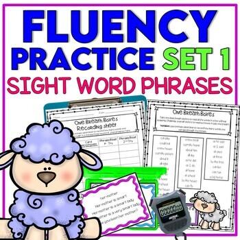 Reading Fluency Practice - SET 1