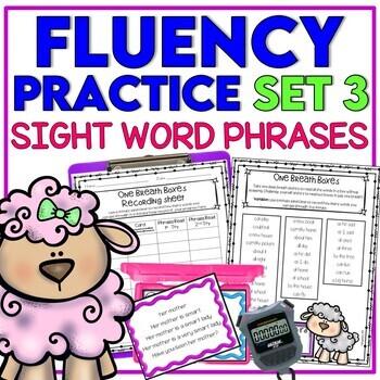 Reading Fluency Practice - SET 3