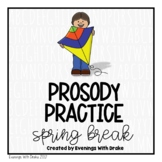Fluency Practice (Spring Break Edition)