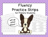 Fluency Practice Strips for the Primary Grades