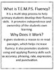 Fluency Practice Above -T.E.M.P.S