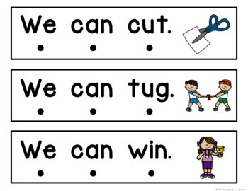 Fluency Practice for Kindergarten