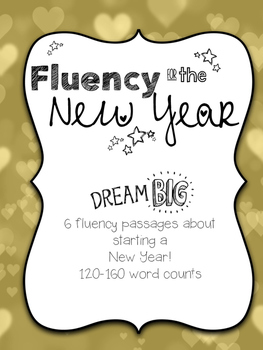 Fluency Practice for the New Year *End of January Sale*