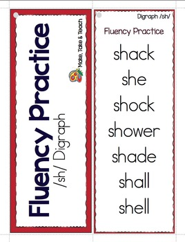 Fluency Practice with Digraphs