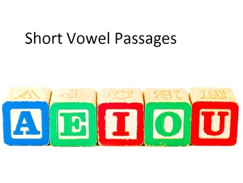 Fluency Practice with Short Vowels
