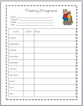 Fluency Progress Form