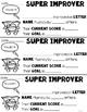 Fluency Progress Monitoring Feedback Forms
