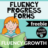 Fluency Progress Monitoring FREE