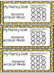 Fluency Punch Card Bookmarks (DIBELS Prep)