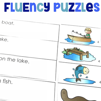 Fluency Puzzles | Sequencing Activity