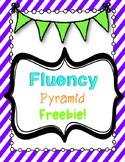 Fluency Pyramid Freebie!!