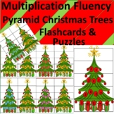 Fluency Pyramid Xmas Trees Flash Cards, Puzzles, Notebook Inserts