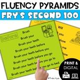 Sight Word Fluency Pyramids Frys Second 100