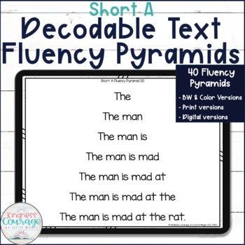 Fluency Pyramids - Short A
