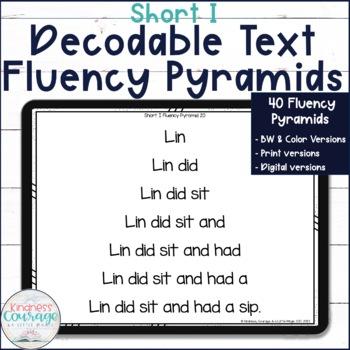 Fluency Pyramids - Short I