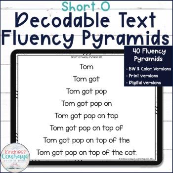 Fluency Pyramids - Short O