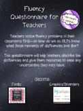 Fluency Questionnaire