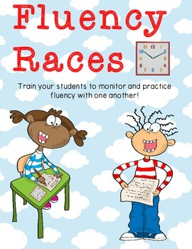 Fluency Races: Fluency Practice for Elementary Students