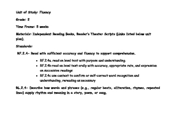 Fluency Reading Unit